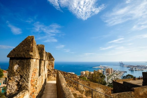 Malaga puerto
