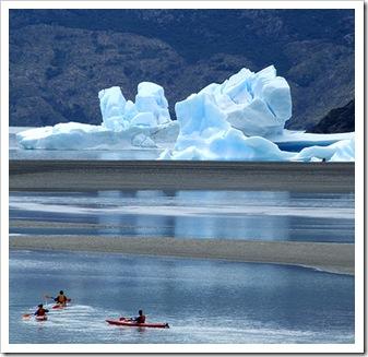 torres del paine, glaciar grey