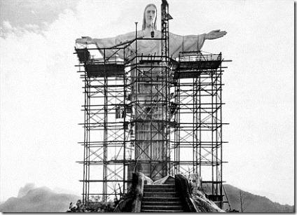 Construcción del Cristo