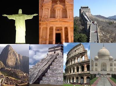 Las 7 Maravillas Del Mundo Locuraviajes Com