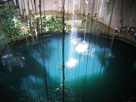 cenote sagrado Chichén itza
