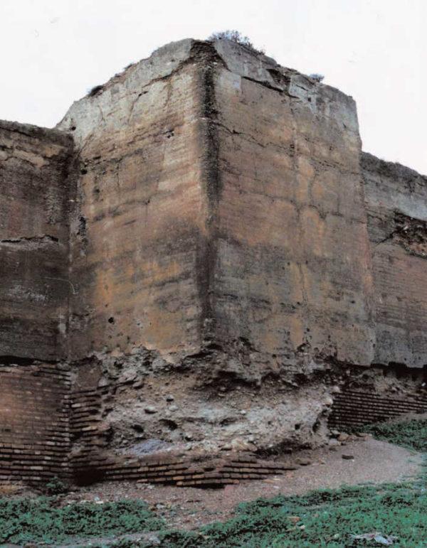 Ladrillos en las Murallas