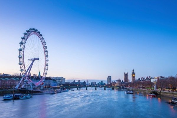 Lugares populares reino unido london eye