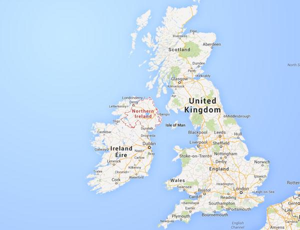 El Mapa Político De Reino Unido Países Que Lo Forman Locuraviajes Com