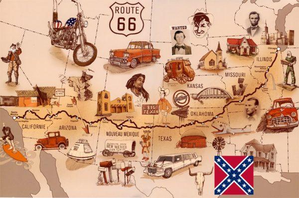 la-ruta-66-mapa-dibujos