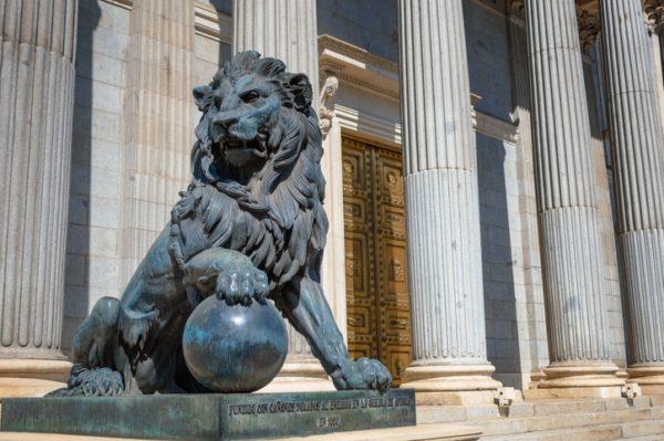 Guia madrid congreso diputados palacio cortes