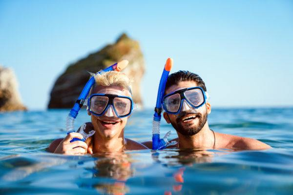 Hacer snorkel lanzarote