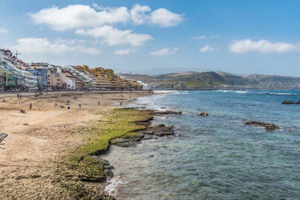 La Playa de Las Canteras