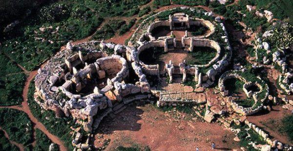 Los patrimonios europeos de unesco Templos megalíticos de Malta