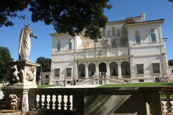 Roma monumentos historicos y como visitarlos Villa y galería Borghese
