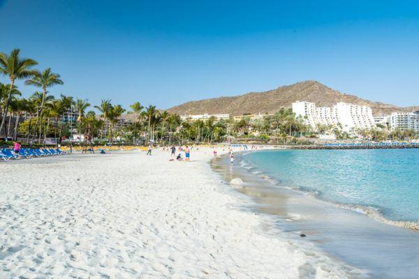 Mejores playas gran canaria anfi