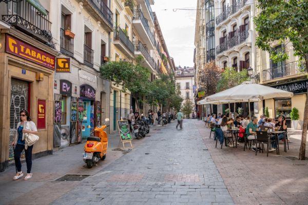 Barrio huertas madrid estaco y bares
