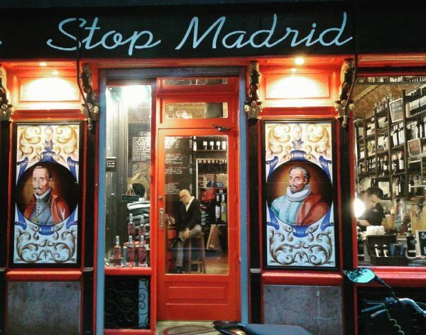 Stop Madrid local