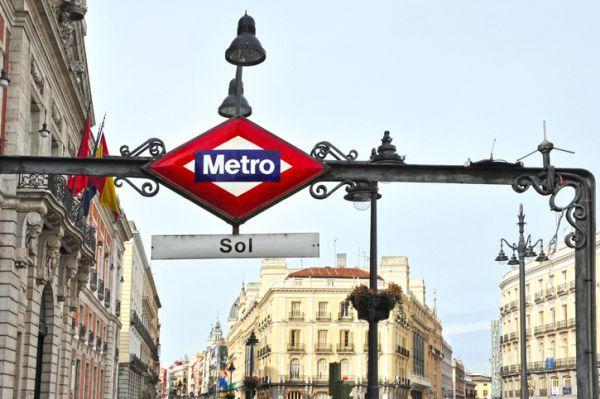Estacion de sol madrid Metro Sol