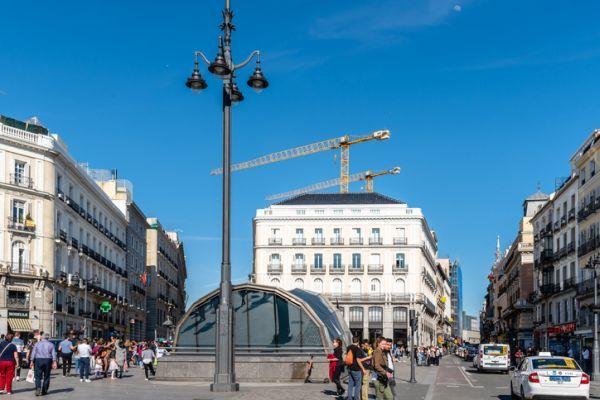 Estacion de sol Madrid Puerta del Sol