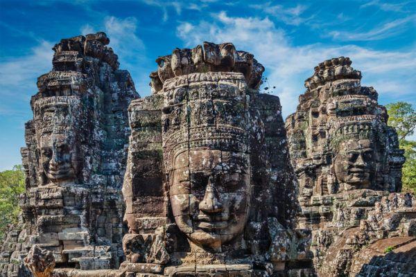 Angkor wat caras