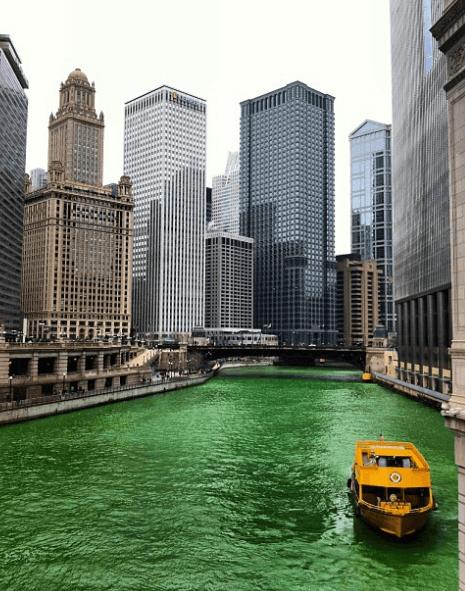 ¿Cuáles son los países donde se celebra el día de San Patricio? Chicago