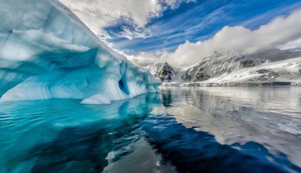 Andorf, bahía de Graham, la Antártida