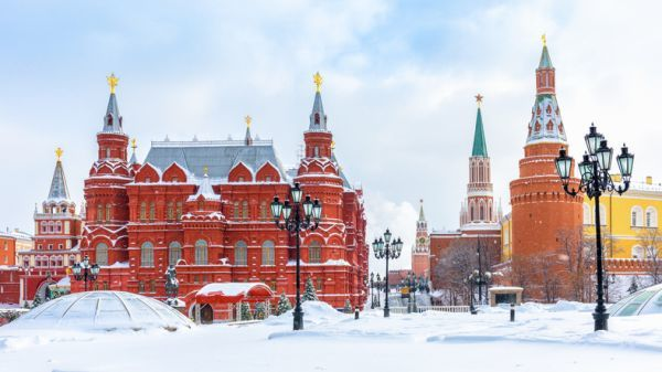 Plaza Manezhnaya, Rusia