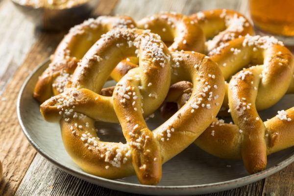 Que comer viena pretzel