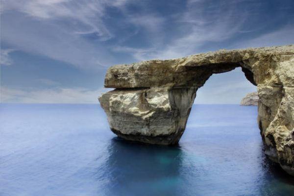 Mejores sitios de europa para bucear ventana azul y el agujero azul en la isla de Gozo 1