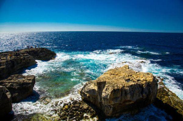 Mejores sitios de europa para bucear ventana azul y el agujero azul en la isla de Gozo 2