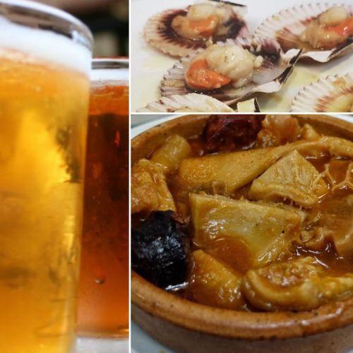 Callos y cerveza