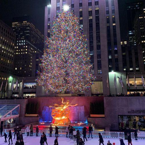 Encendido navideño Nueva York