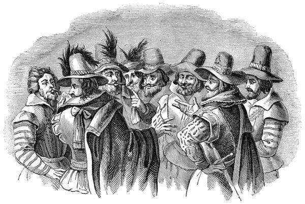 Guy fawkes conspiración