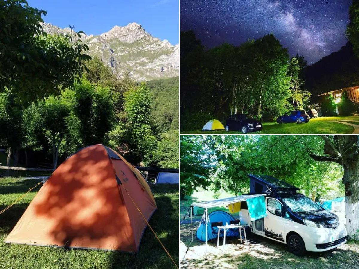 Cómo hacer camping en los Picos de Europa