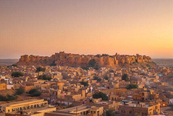 Jaisalmer fuerte habitado