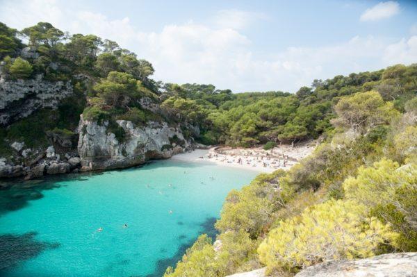 Menorca cala macaralleta