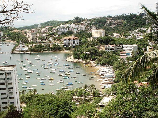 Playa Manzanillo acapulco