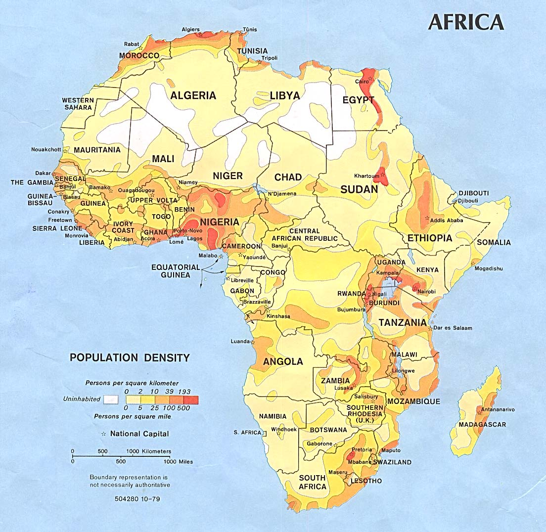 Mapa Politico De Africa En Español.Mapa Politico De Africa Locuraviajes Com