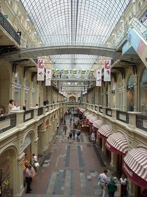 GUM Moscu centro comercial compras 02