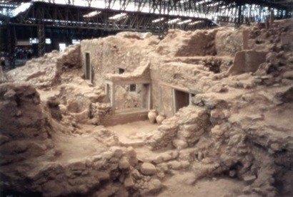 acrotiri sitios arqueologicos