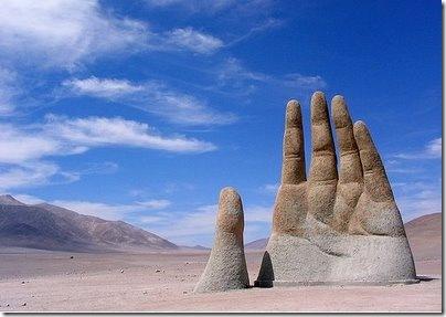 'The Hand of the Desert