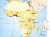 mapa demografico de africa