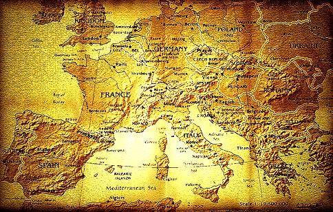 mapa europa paises. El mapa de Europa,