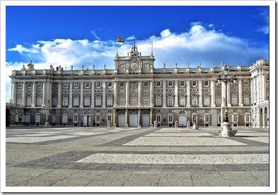 madrid, palacio de oriente