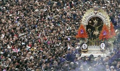 señor de los milagros procesion lima
