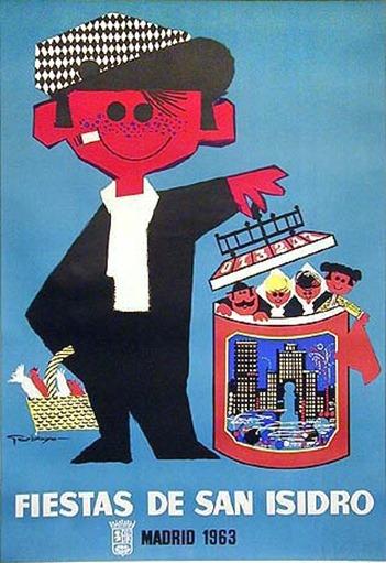 cartel de fiestas de 1963