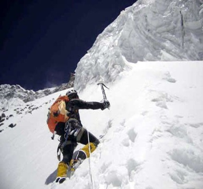 Annapurna 1-escalando