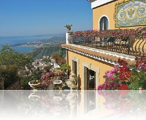 hotel villa ducale en Taormina