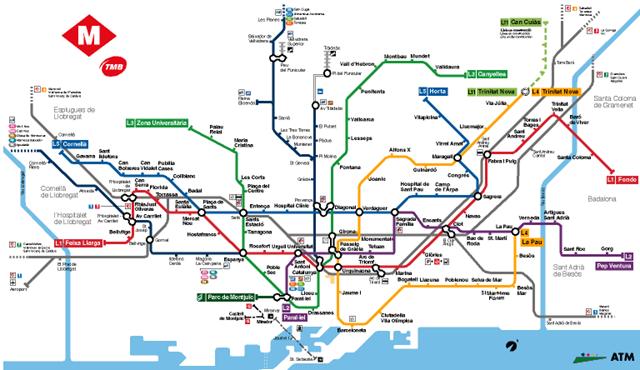 El Metro De Barcelona Locuraviajes Com