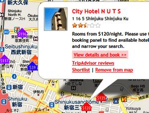 Buscar hoteles en Google Maps