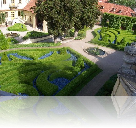 jardines Aria hotel en Praga