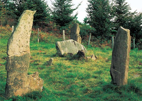 leitzaran monumentos prehistoria