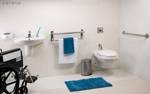 Baños Adaptados Para Personas Con Discapacidad:Imagen Fanáticos del Diseño y la Arquitectura
