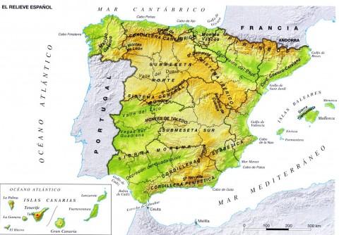 mapa-fisico-espana